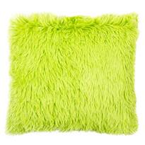 Obliečka na vankúšik Chlpáč Peluto Uni zelená, 40 x 40 cm