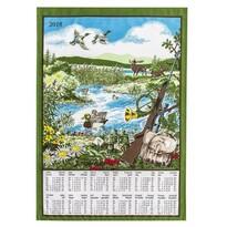 Textilní kalendář 2016 Myslivecký, 45 x 65 cm