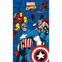 Ręcznik kąpielowy Avengers Comics, 70 x 120 cm