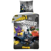Lenjerie de pat Lego Batman, 140 x 200 cm, 70 x 90 cm