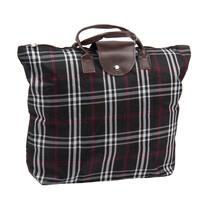 Skládací taška Kostka, černá