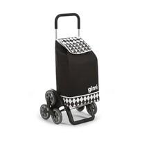 Gimi Tris Optical nákupní taška na kolečkách černá
