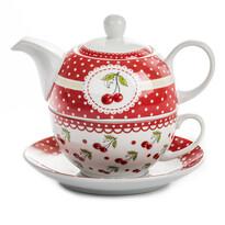 3dílná čajová sada Cherry