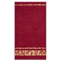 Ručník Bamboo Gold bordó, 50 x 90 cm