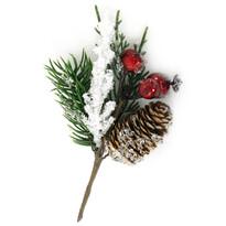Vianočná vetvička Elda, 16 cm
