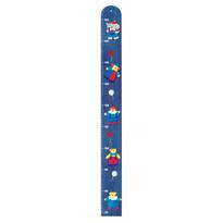 Bino 5 barát fali magasságmérő kék