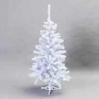 Vianočný stromček smrek aljaška 120 cm biela