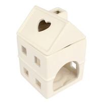 Lampă ceramică aromateroapie Căsuță 15 cm