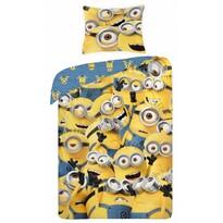 Detské bavlnené obliečky Mimoni 022, 140 x 200 cm, 70 x 90 cm