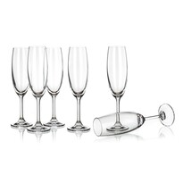 Set pahare şampanie Banquet Crystal Leona 210 ml, 6 buc.