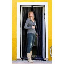 BRILANZ szúnyogháló ajtóra, fekete