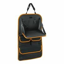 Organizér na přední sedadlo se stolkem Orange, 40,5 x 69,5 cm