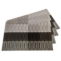 Podkładki na stół Linie szary, 30 x 45 cm, zestaw 4 szt.