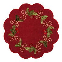 Serweta świąteczna Ostrokrzew czerwony