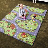 Detský koberec Farma, 200 x 200 cm