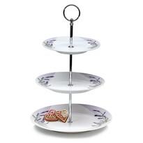 Banquet Lavender 3-poschodový stojan na cukrovinky