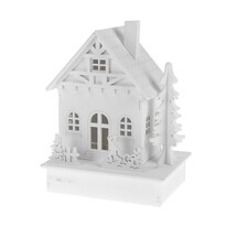 Dekoračný LED domček Friends, 15 cm