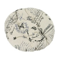 Sedák Dana kulatý Dopis, 40 cm