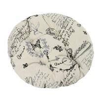 Siedzisko Dana okrągłe List, 40 cm