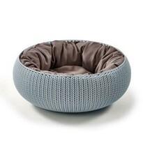Curver KNIT Culcuş pentru pisici, albastru