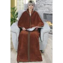 Śpiwór telewizyjny Karmela Plus brązowy, 150 x 180 cm