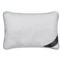 Vlněný polštář Alpaka DUO, šedá, 40 x 60 cm