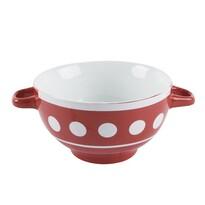 Orion Ceramiczna miska do zupy Kropka, 0,6 l