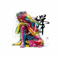 Designová fototapeta XXL Budha, 364 x 252 cm