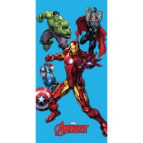 Ręcznik kąpielowy Avengers, 75 x 150 cm