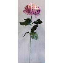 Umelá kvetina Chryzantéma, svetlofialová