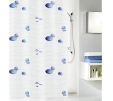 Kleine Wolke sprchový záves Mušličky modrá
