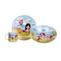 Banquet 3- częściowy zestaw dla dzieci Little Princes