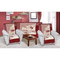 Narzuty na kanapę i fotele Karmela plus Zacisze, 1 szt. 150 x 200, 2 szt. 65 x 150 cm