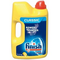 Finish Power Powder Lemon prášok do umývačky 2,5 k