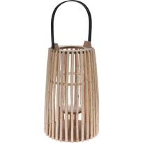 Drevený lampáš, 32 cm