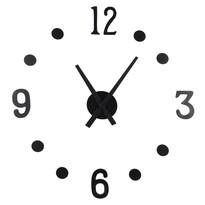 Zegar naklejany NUMBER, 13 elementów