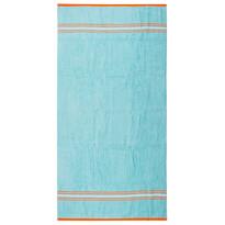Ręcznik plażowy Beach Waves niebieski, 90 x 170 cm