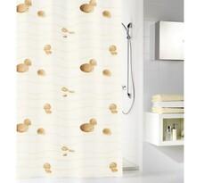 Kleine Wolke sprchový Mušličky béžová, 180 x 200 cm
