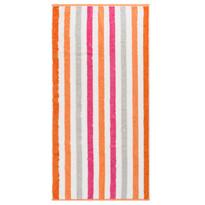 Cawo Frottier uterák Stripe pink, 50 x 100 cm