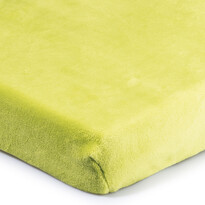 4Home mikroflanel lepedő zöld 180 x 200 cm