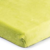 4Home prześcieradło mikroflanela zielony, 180 x 200 cm
