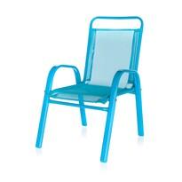 Happy Green Záhradná detská stolička modrá