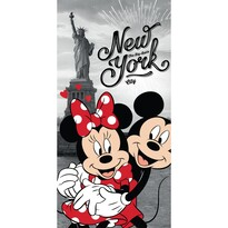 Osuška Mickey and Minnie in New York, 70 x 140 cm