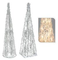 Svíticí pyramida 38 cm