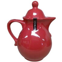 AMBITION konvice na čaj červená