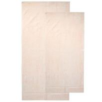 4Home komplet ręczników Bamboo Premium kremowy, 70 x 140 cm, 50 x 100 cm