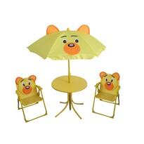 Happy Green Dziecięcy zestaw kempingowy Bear