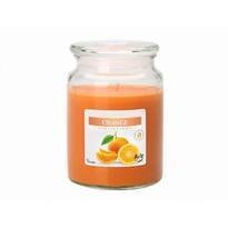 Lumânare parfumată în pahar Portocală, 500 g