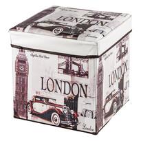 Pudełko składane do przechowywania z nadrukiem London