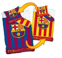 Bavlněné povlečení FC Barcelona Double, 140 x 200 cm, 70 x 80 cm
